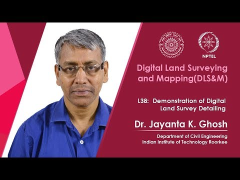 Demonstration of Digital Land Survey Detailing