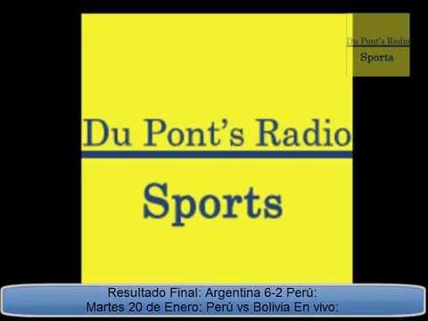 Peru VS Argentina Sudamericano Sub 20 2015 Partido Completo