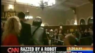 Bill Clinton vs. RoboProfessor CNN Coverage