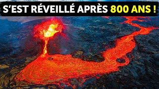50 000 tremblements de terre en 3 semaines ont fini par réveiller le volcan