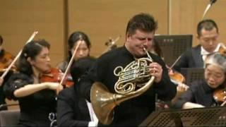 W.A.Mozart Horn Concerto No.2 in E flat major, III. Rondo - Radek Baborák, Seiji Ozawa, MCO