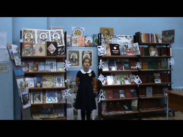 Изображение предпросмотра прочтения – ОляФролова читает произведение «Не позволяй душе лениться» Н.А.Заболоцкого