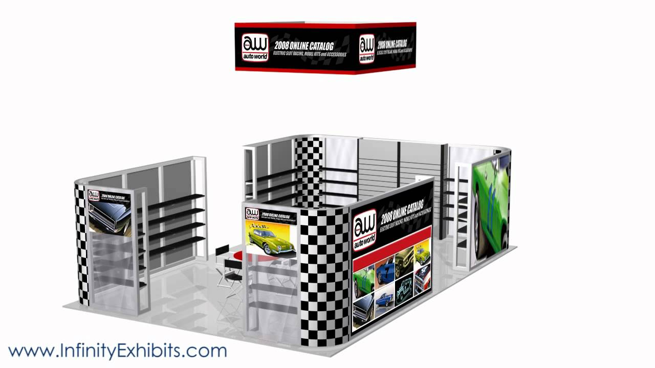 Trade Show Booth With Shelves : Ft fusion trade show display booth with shelving