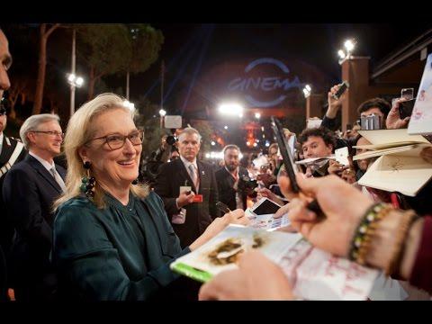 #RomaFF11 - Meryl Streep alla Festa del Cinema di Roma!