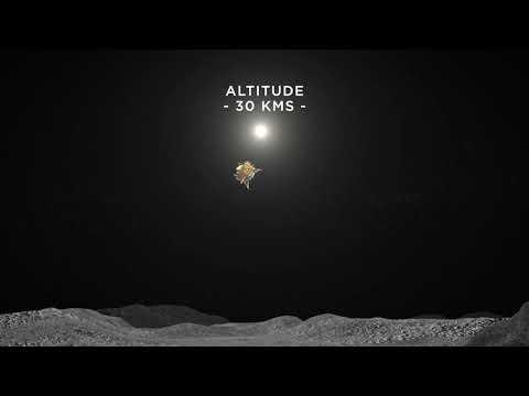 El orbitador y el aterrizador de la misión Chandrayaan 2 a la Luna se separan sin problemas