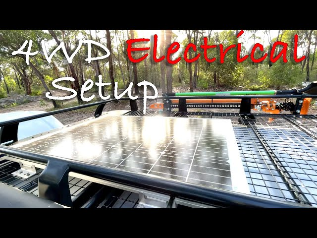 Solid, Reliable & Simple 4WD Electrical Setup For Running A Fridge & More