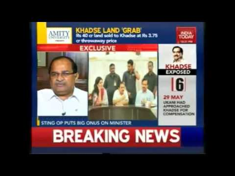 Radhakrishna Vikhe Patil on corruption of Eknath Khadse