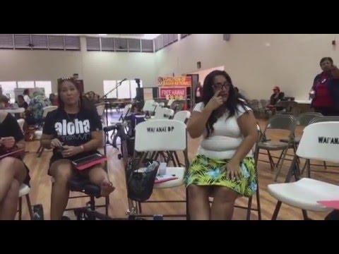 'Aha Aloha 'Āina ma Wai'anae: Kino discussion