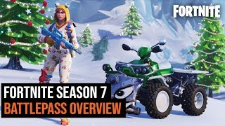 Fortnite Season 7 Battle Pass Overview