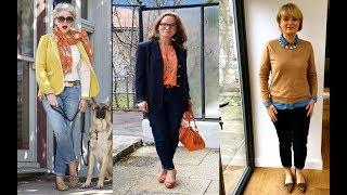 Moda para Mujeres de 50 años a mas Otoño Invierno 2018