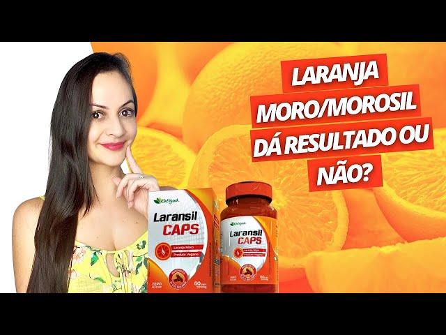 O que acontece se você usar o suplemento MOROSIL (LARANJA MORO) todos os dias?