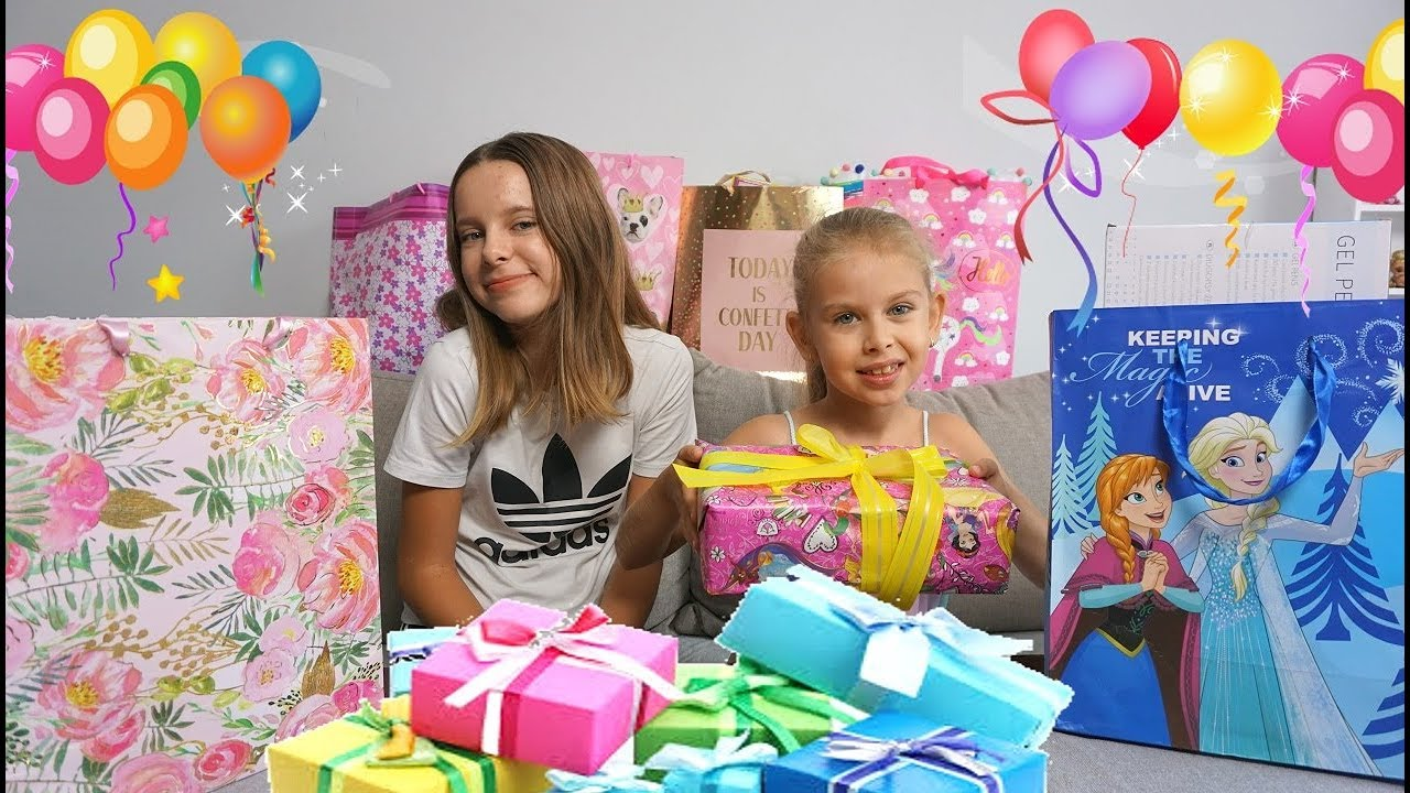 Urodziny Co Dostala Moja Siostra Na 7 Urodziny Prezenty