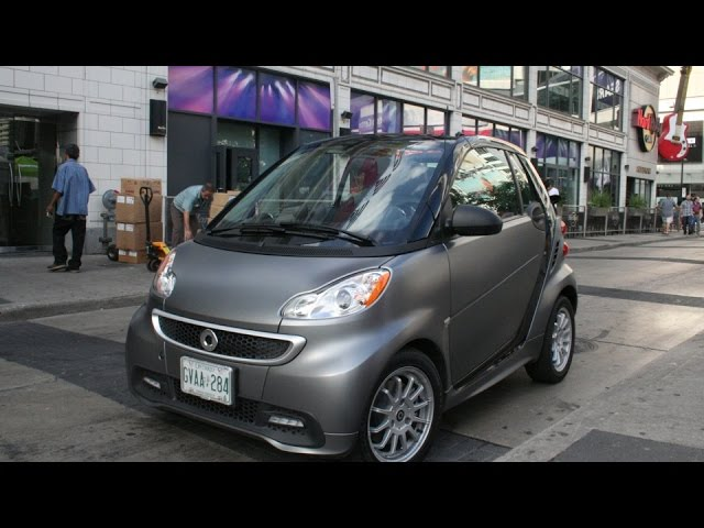Smart Fortwo Electric Drive Ev Range Test Extreme Reality Condition You