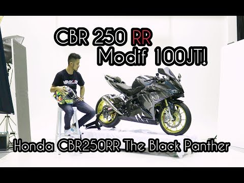 MODIF 100JT CBR250RR JADI THE BLACK PANTHER | INTERVIEW WITH ARIF
