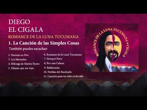 Diego el Cigala  - La Canción de las Simples Cosas  (con letra)