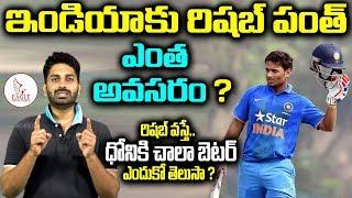 రిషబ్ పంత్ వన్ డే మ్యాచ్లకు అవసరమా ? Is Rishab Good to Play ODI Matches for INDIA| Eagle Media Works