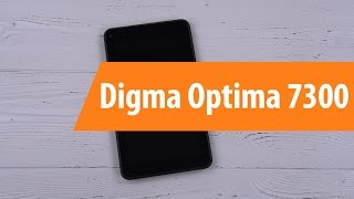 Распаковка Digma Optima 7300 / Unboxing Digma Optima 7300