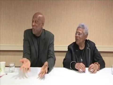 Two of THE LITTLE ROCK NINE: - Up Close and Personal.