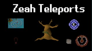 Zeah Teleports and How to Unlock Them