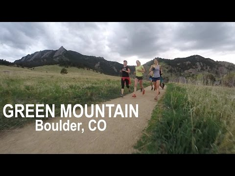 Trail Running up Green Mountain in Boulder, CO!