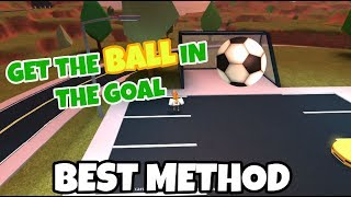 [EASIEST METHOD] How to get the SOCCER BALL in the GOAL! Roblox Jailbreak