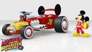 Roadster Transformations | Mickey and the Roadster Racers | Disney Junior