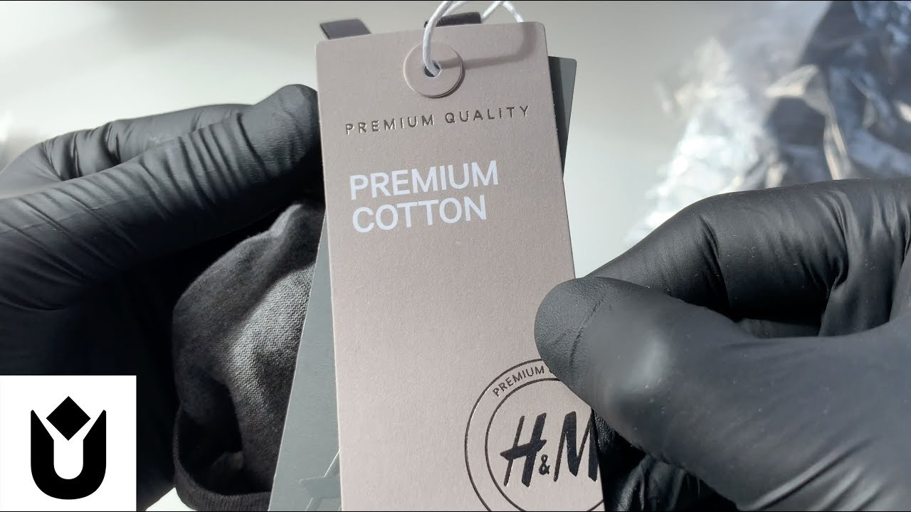 [VIDEO] - H&M Haul ASMR Unbox 1