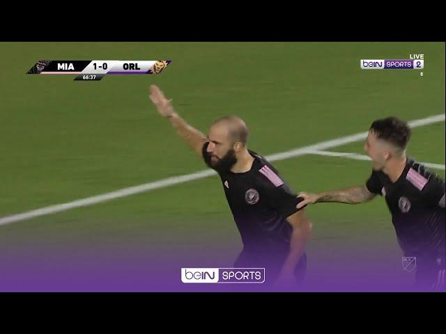 Mantan Bintang Eropa, Higuain & Nani Saling Pamer Gol Berkelas, Miami vs Orlando | MLS 2021 Moments