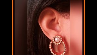 How to Make Quilling Stud Earrings