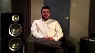 Paradigm Prestige Series Speakers - Zoltan Balla,  Brand Manager For Paradigm & Anthem