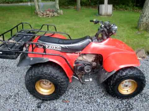 1986 SUZUKI LT250 LT 250 QUADRUNNER QUAD RUNNER - 4 SALE ON EBAY 7/1