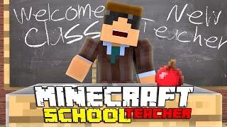 NEW TEACHER! | Minecraft School Teacher S:1 Ep.1