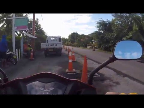 Around Rarotonga 16 July 2015