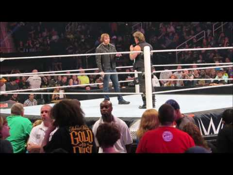 Dean Ambrose Apologizes To Jericho About Jacket After WWE RAW  Goes Off Air In NC Vlog 5/1716