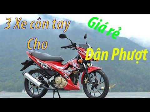 3 Mẫu xe côn tay giá rẻ dành cho dân phượt tại Bắc Giang