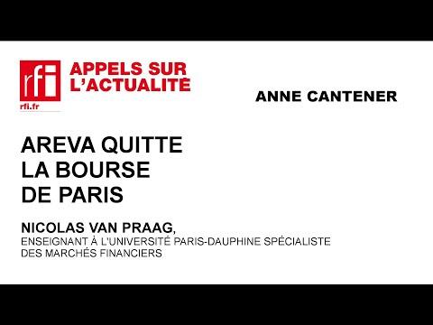 Areva quitte la Bourse de paris
