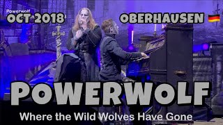 Powerwolf - Where the Wild Wolves Have Gone - Oberhausen Turbinenhalle 2018.10.27 4K LIVE