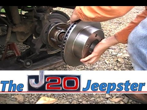 How to Change Front Brake Pads and Rotors on a Cherokee