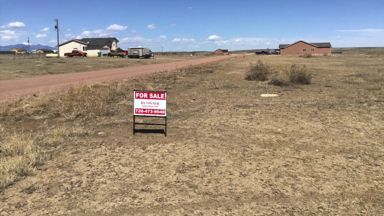 1.14 acre lot in Pueblo West FSBO. Build a big home here!