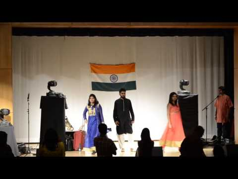 CU Boulder ISA's Diwali 2016 Fashion Walk