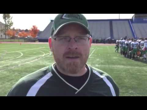 Sutton High School football coach Ryan Dailey