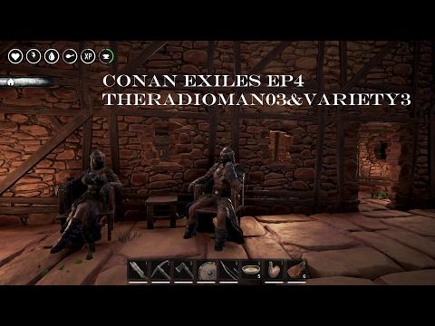 """Conan Exiles EP4 """"Sexy & the Thinker"""""""