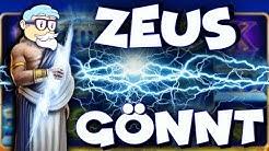 ZEUS wirft BLITZE und es hagelt MEGA WINS - Casino Professor feat. Pink Panter