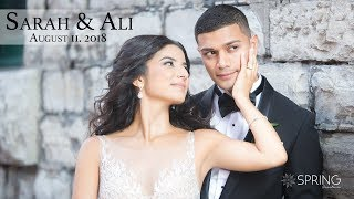 Sarah + Ali Highlight Wedding Feature