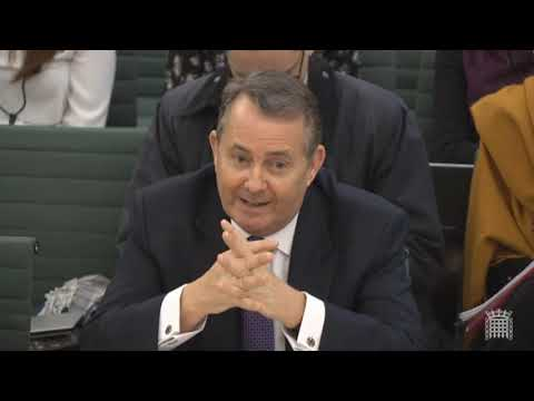 Liam Fox refusing to talk about Plan B