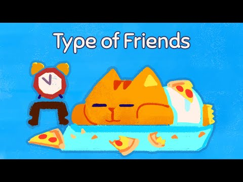 Super Cat Tales: Type of Friends (Cute Animation)