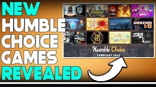 New Humble Choice Games REVEALED + Big Game RETURNING to STEAM SOON!