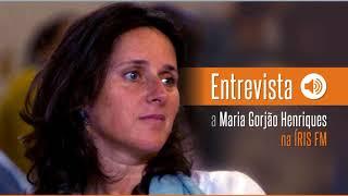 Entrevista a Maria Gorjão Henriques - Rádio IRIS - Programa Saiba Viver