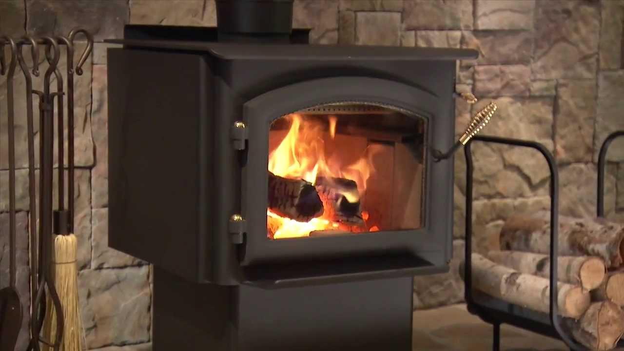 Quadra Fire 3100 Millennium Wood Stove Video Youtube