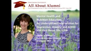 AAA: Mental Health and Nutrition Education with Vicki Steine, DSc, LCSW